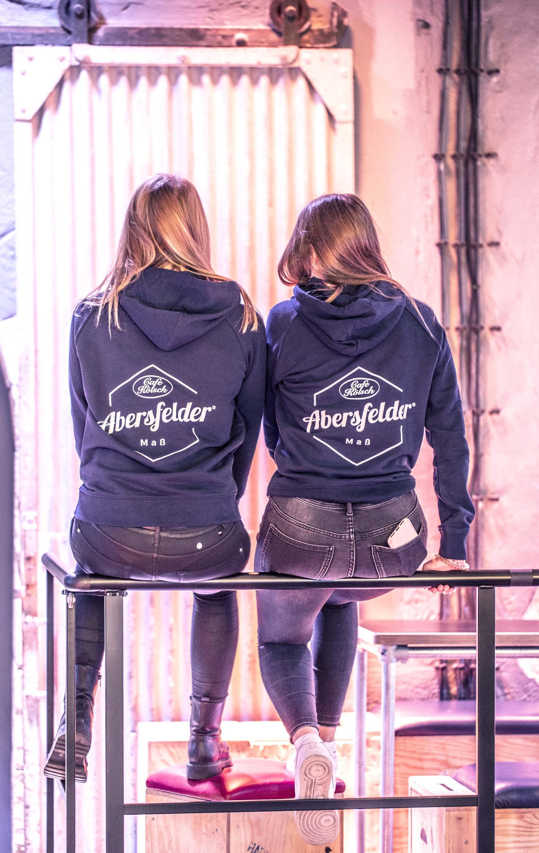 HOODIE ABERSFELDER Maß Frauen - navy